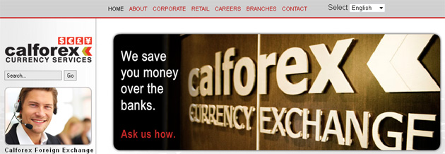 Calforex Currency Services