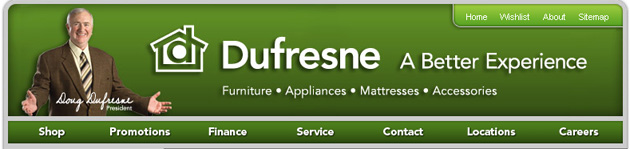 Dufresne furniture online flyer