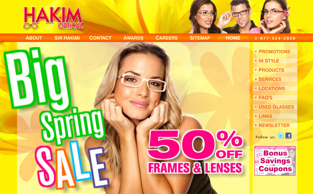 One hour optical coupons