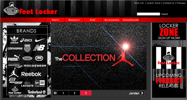 Foot locker shop online australia