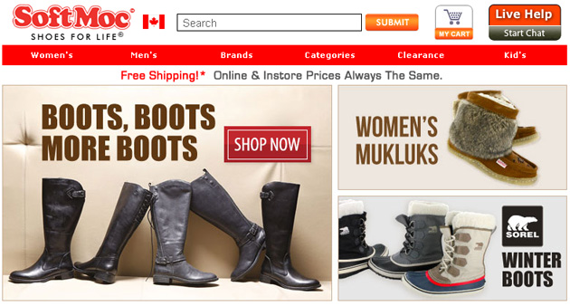 Buy Brand Name Shoes Online Canada