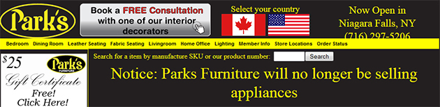 Park S Furniture Store Flyers Online