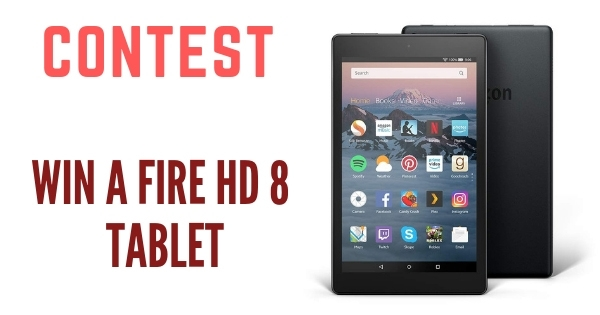 Win a Fire Hd 8 Tablet