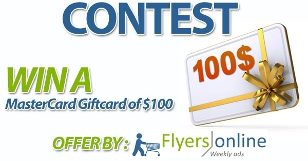 Win a MasterCard GiftCard of $100