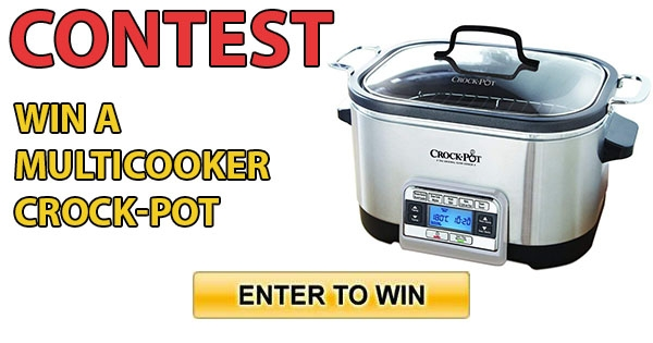 Contest Win a Multicooker Crock-Pot