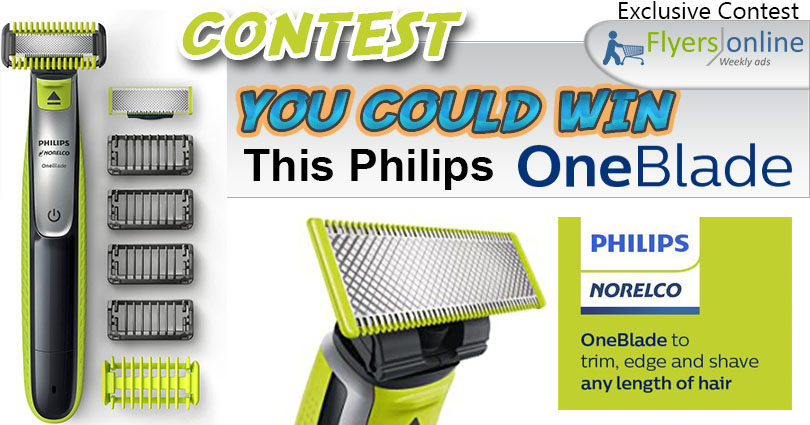 WIN a Philips OneBlade