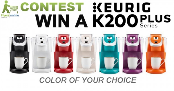 Win a Keurig K200 Plus Series