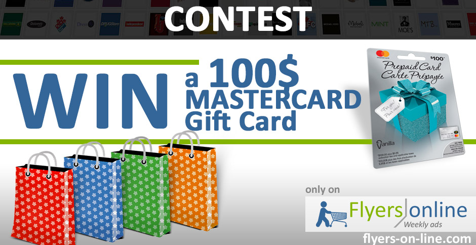 100$ Mastercard Gift Card Contest