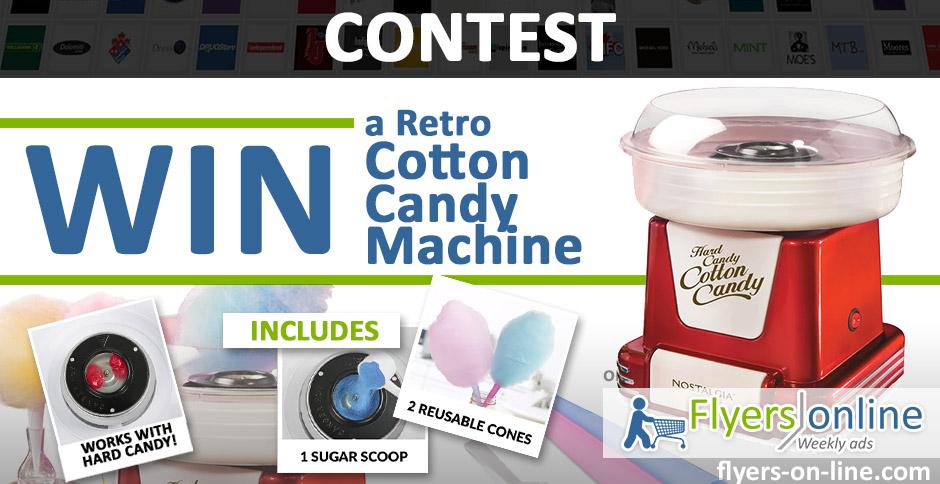 Cotton Candy Machine Contest