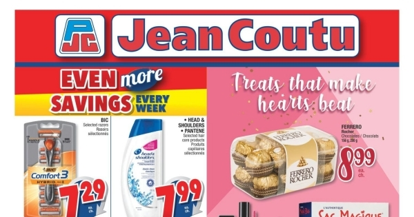Jean Coutu current Flyer online