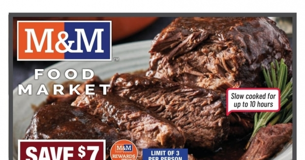 M&M Food Market current Flyer online