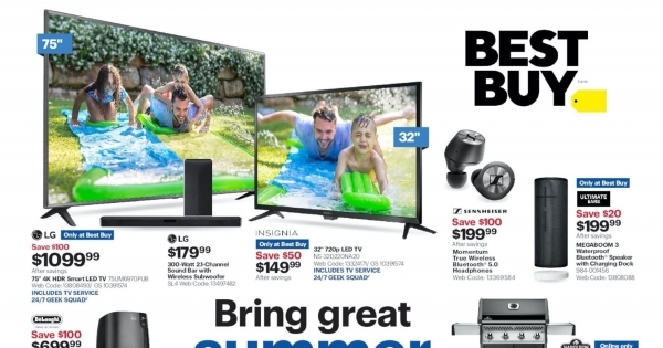 Best Buy current Flyer online
