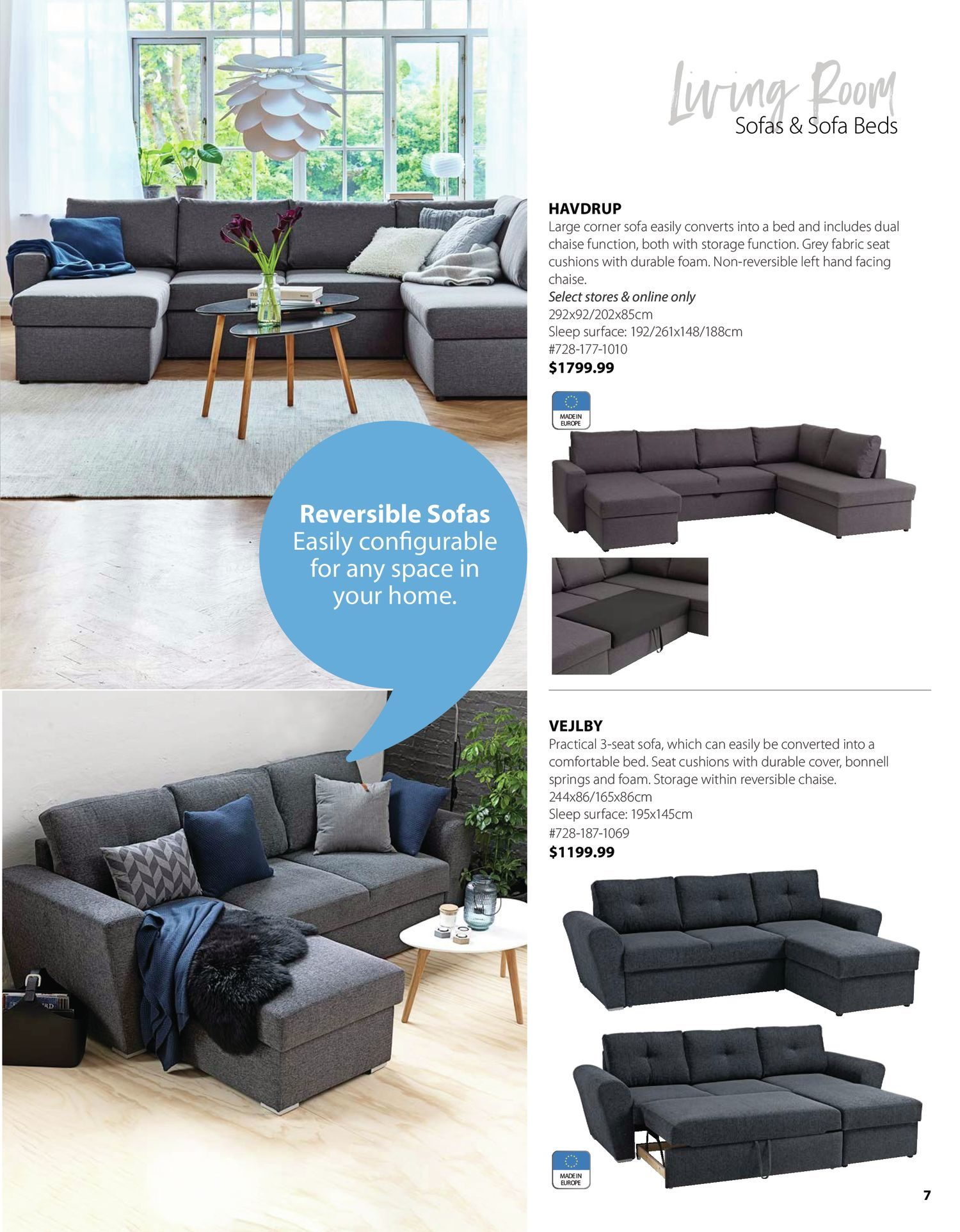 Jysk - Furniture Catalogue - Be Inspired - Page 7