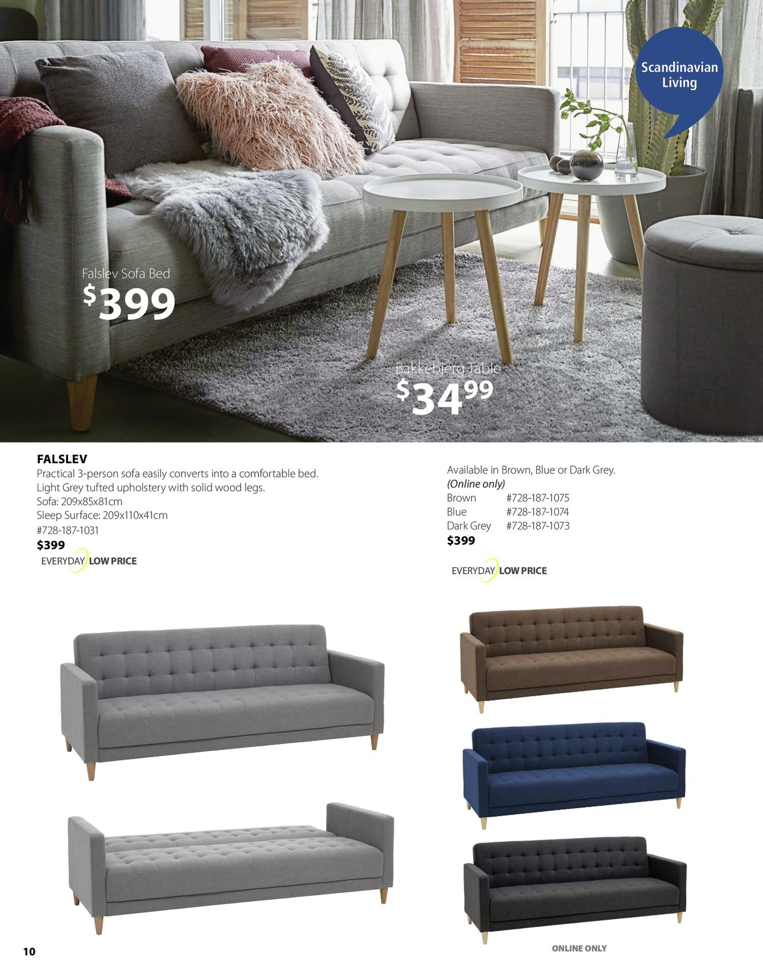Jysk - Furniture Catalogue - Be Inspired - Page 10