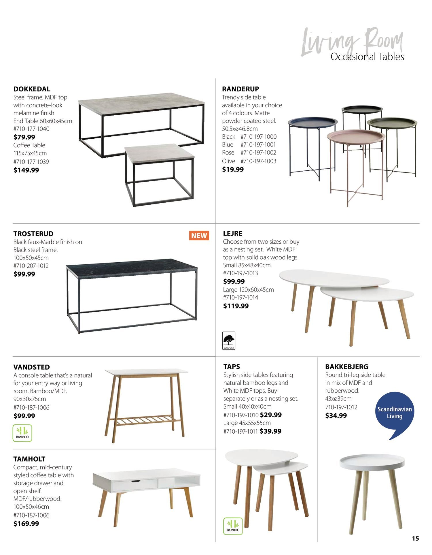 Jysk - Furniture Catalogue - Be Inspired - Page 15