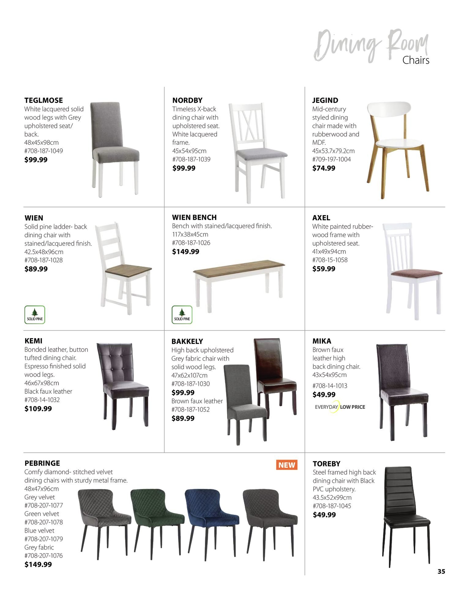 Jysk - Furniture Catalogue - Be Inspired - Page 35