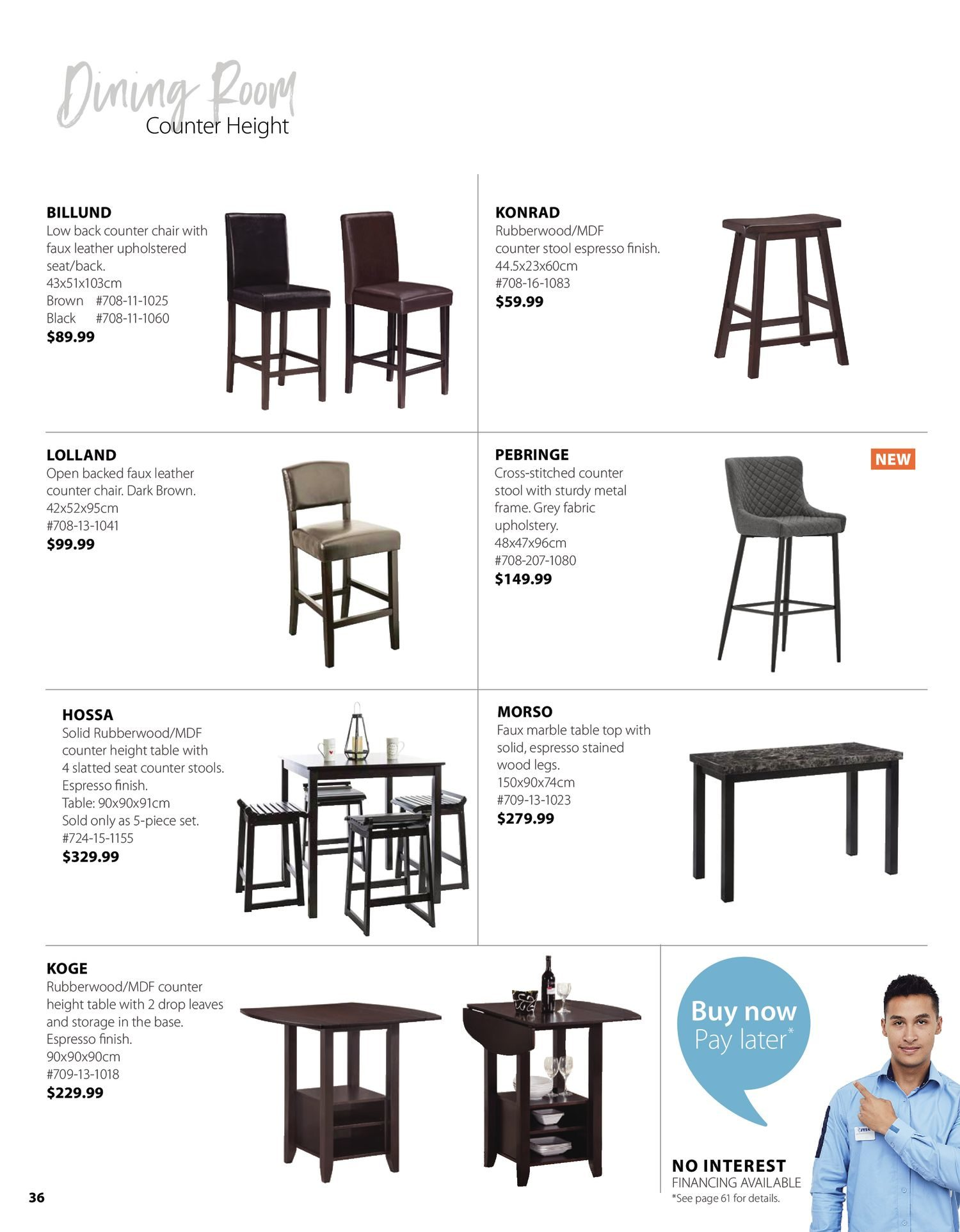 Jysk - Furniture Catalogue - Be Inspired - Page 36