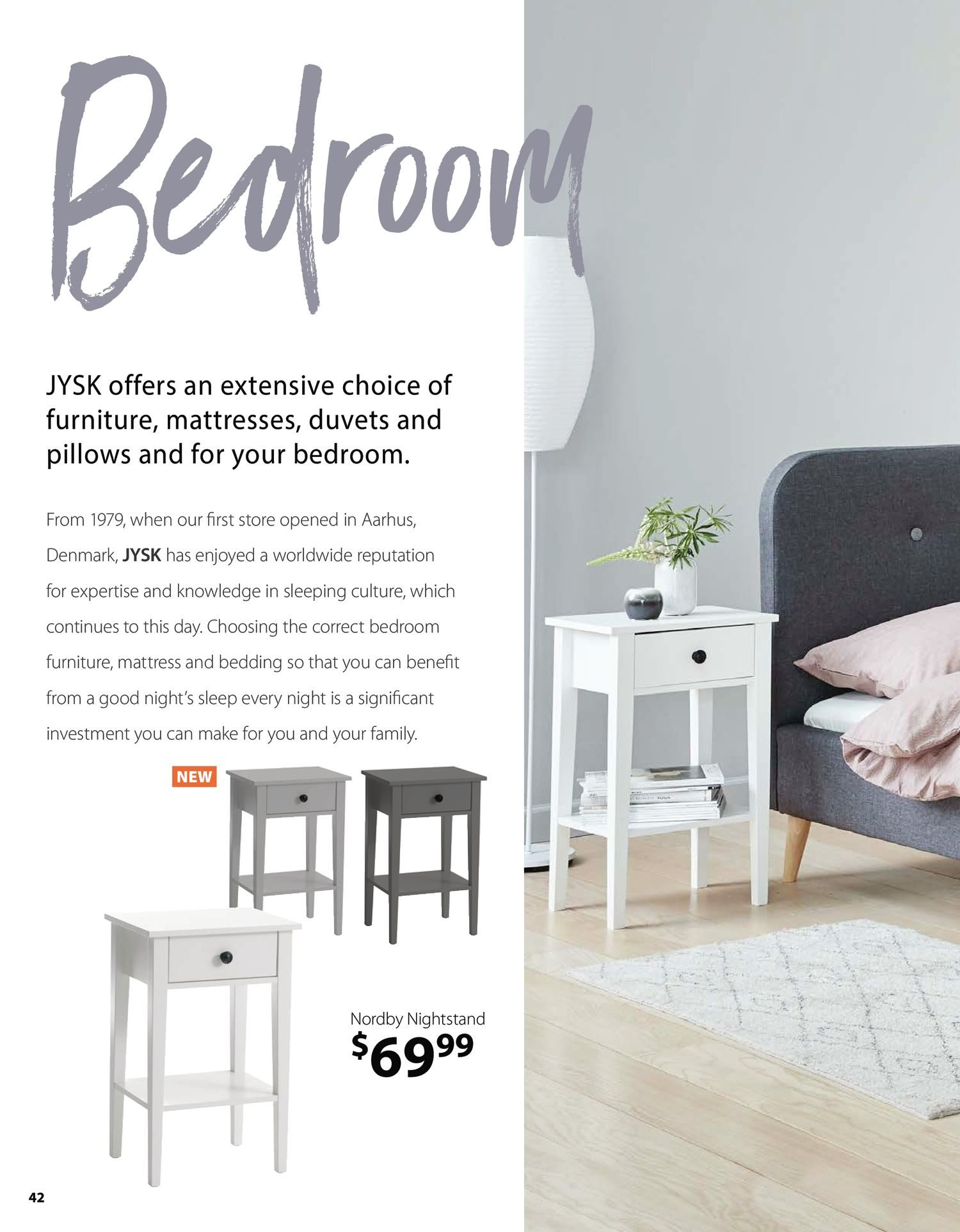 Jysk - Furniture Catalogue - Be Inspired - Page 42