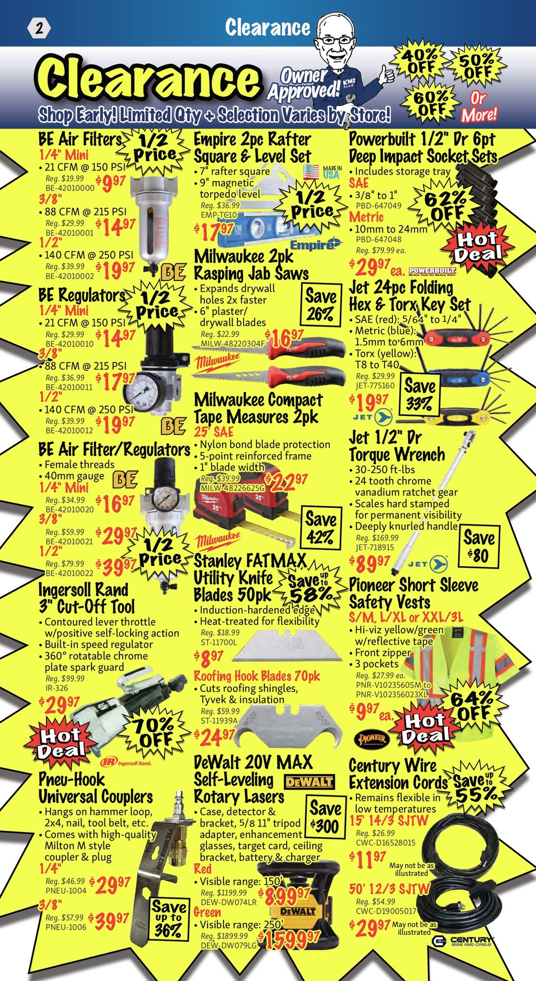 KMS Tools - Monthly Savings - Page 2