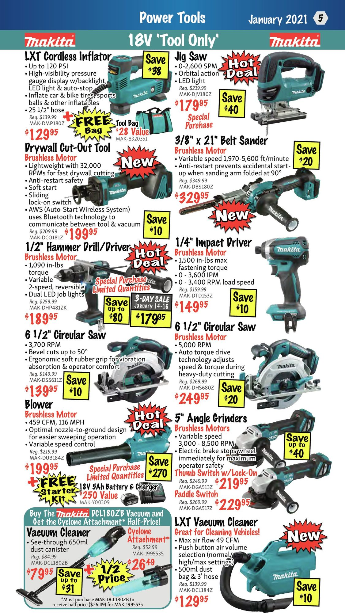KMS Tools - Monthly Savings - Page 5