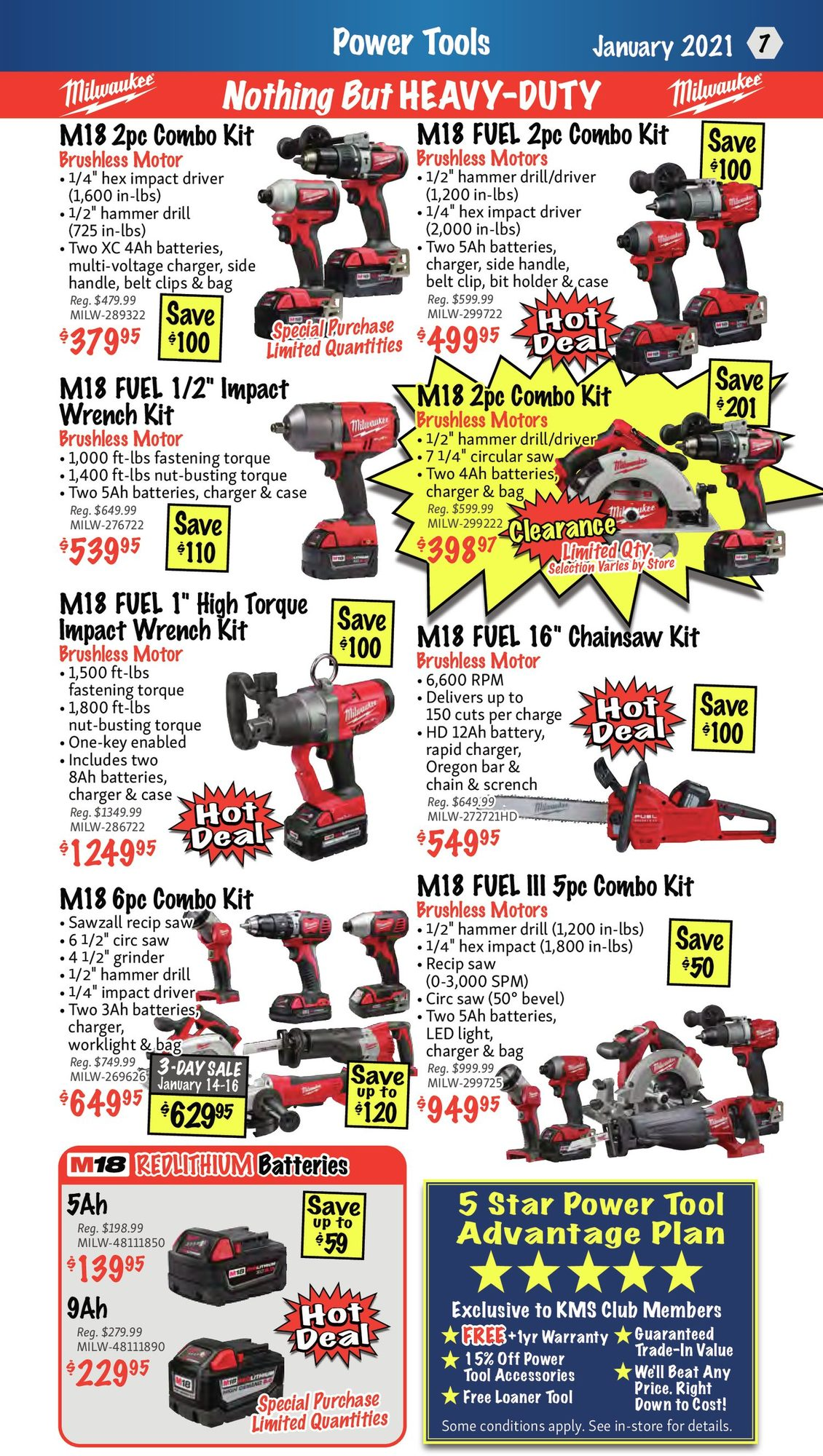 KMS Tools - Monthly Savings - Page 7
