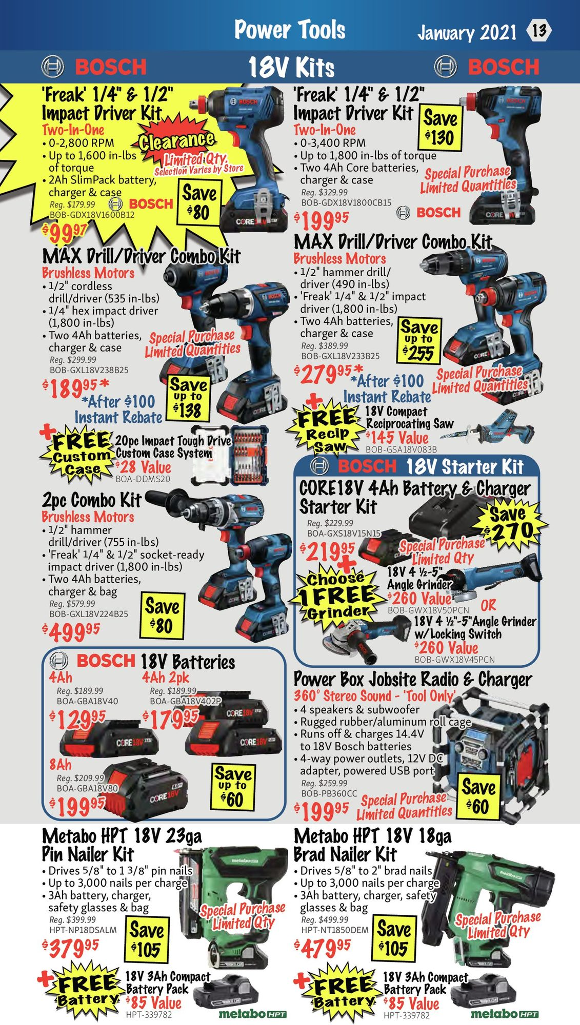 KMS Tools - Monthly Savings - Page 13