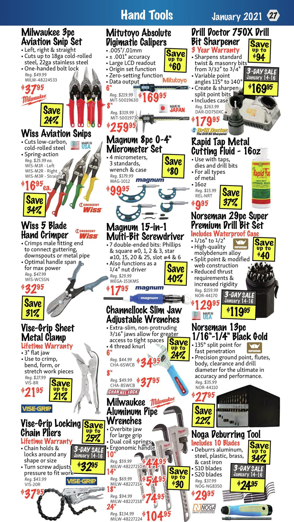 KMS Tools - Monthly Savings - Page 27