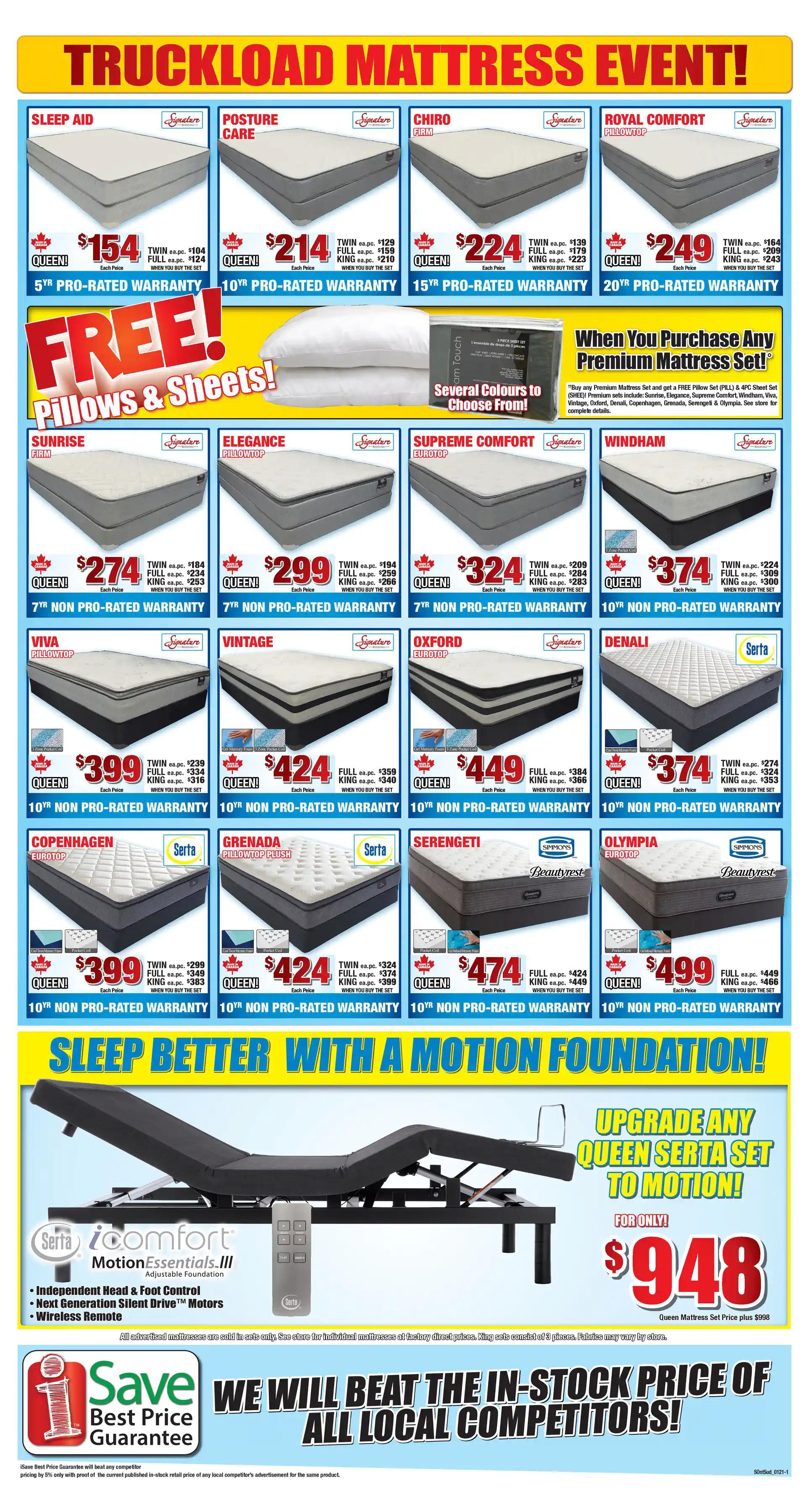 Surplus Furniture & Mattress Warehouse - 2 Weeks of Savings - Page 2