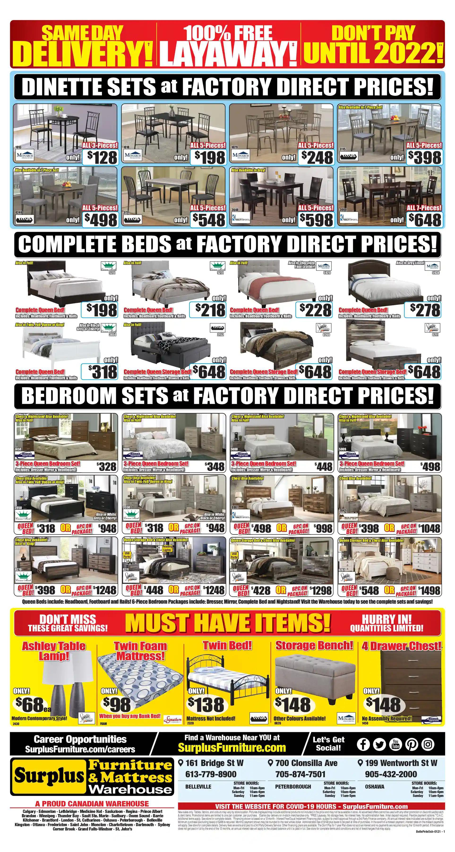 Surplus Furniture & Mattress Warehouse - 2 Weeks of Savings - Page 3