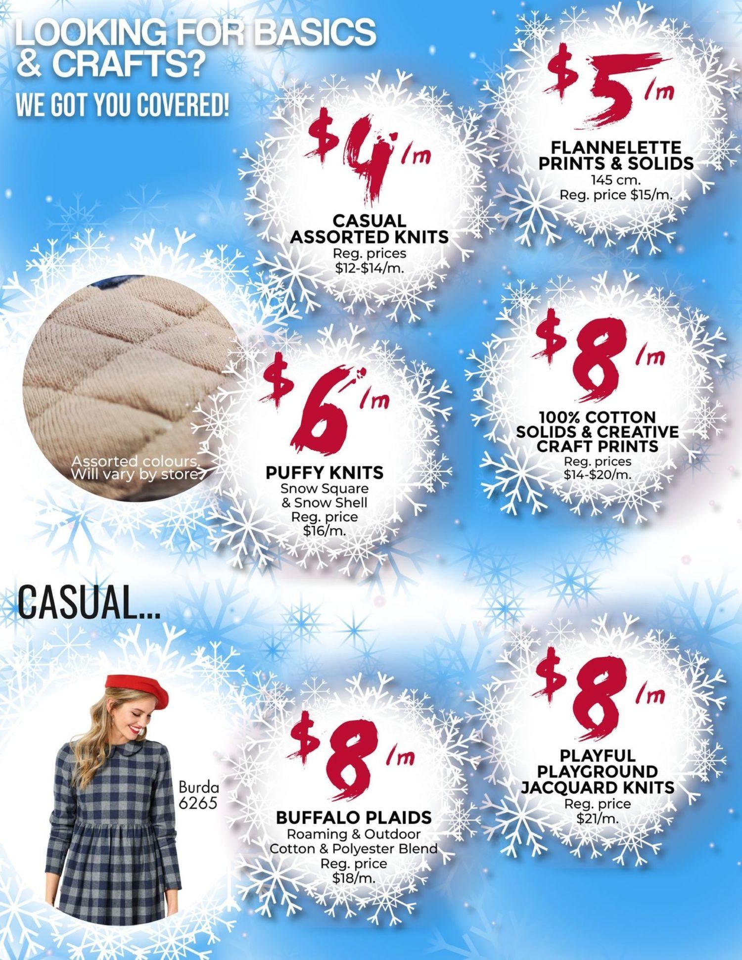 Fabricland - January's Deep Freeze Sale - Page 4