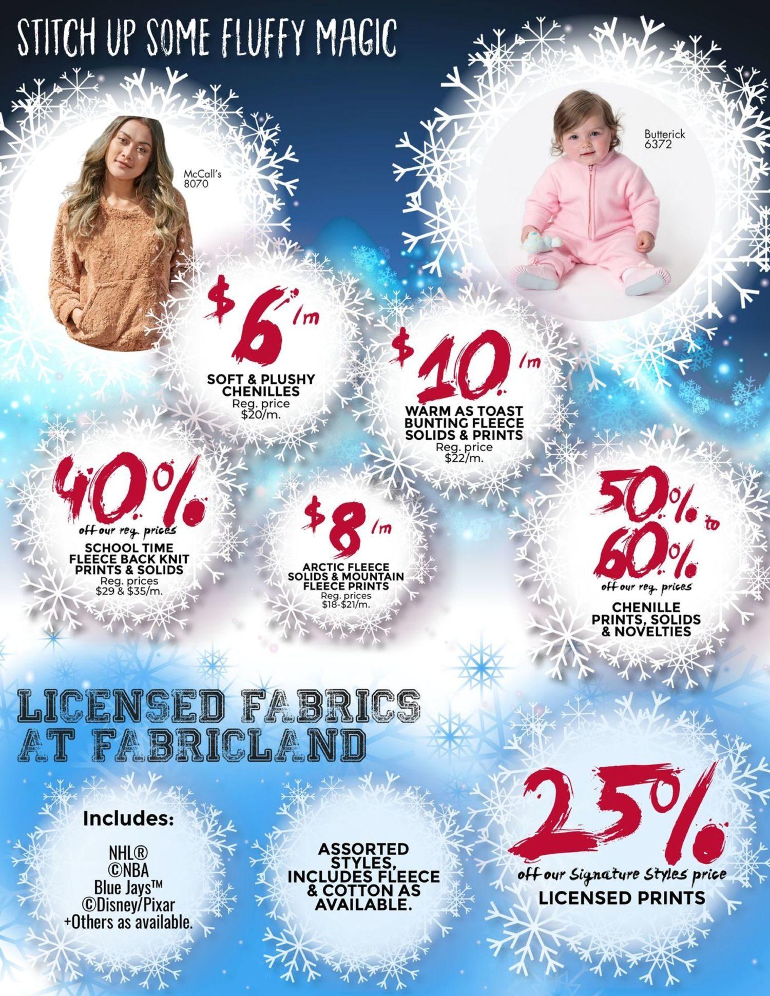 Fabricland - January's Deep Freeze Sale - Page 5