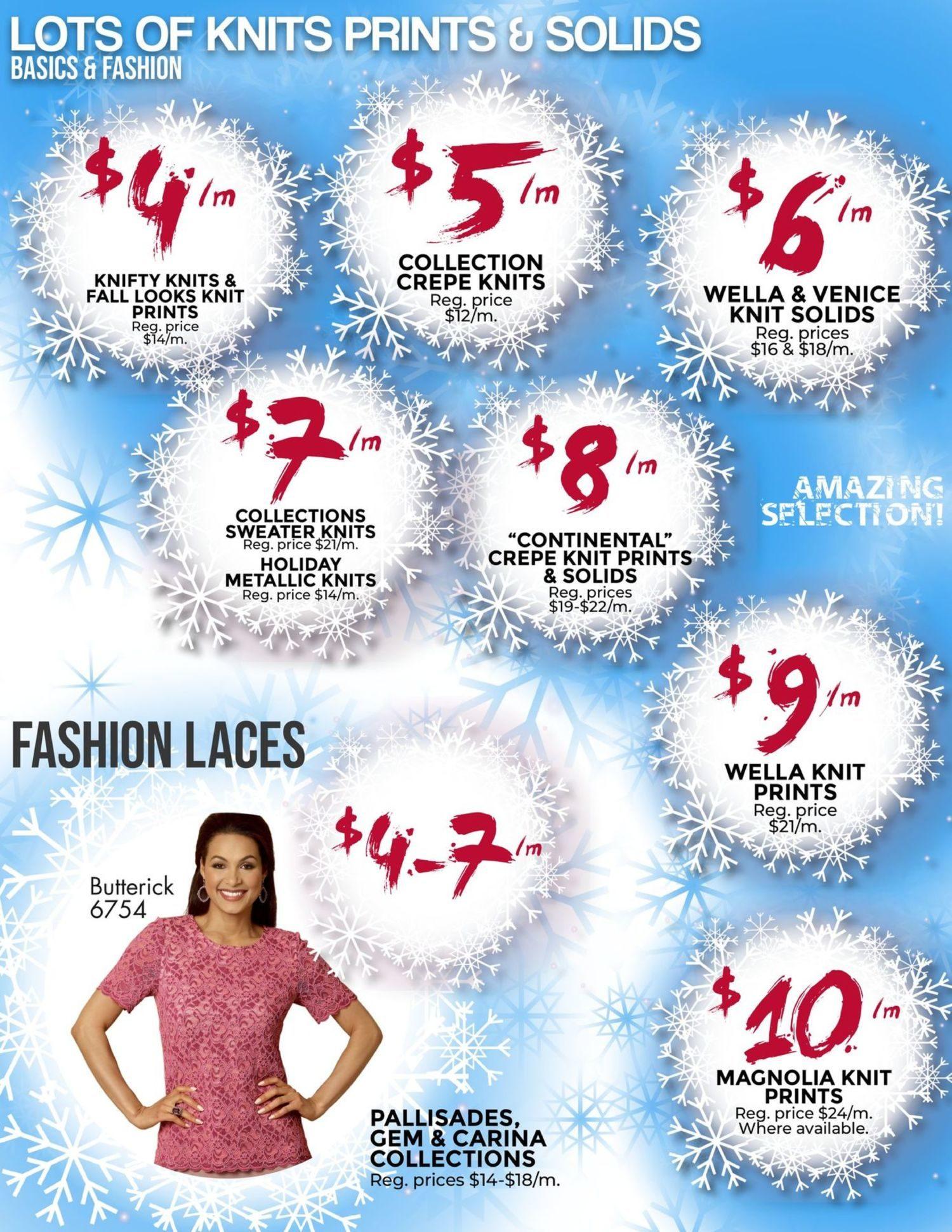 Fabricland - January's Deep Freeze Sale - Page 6