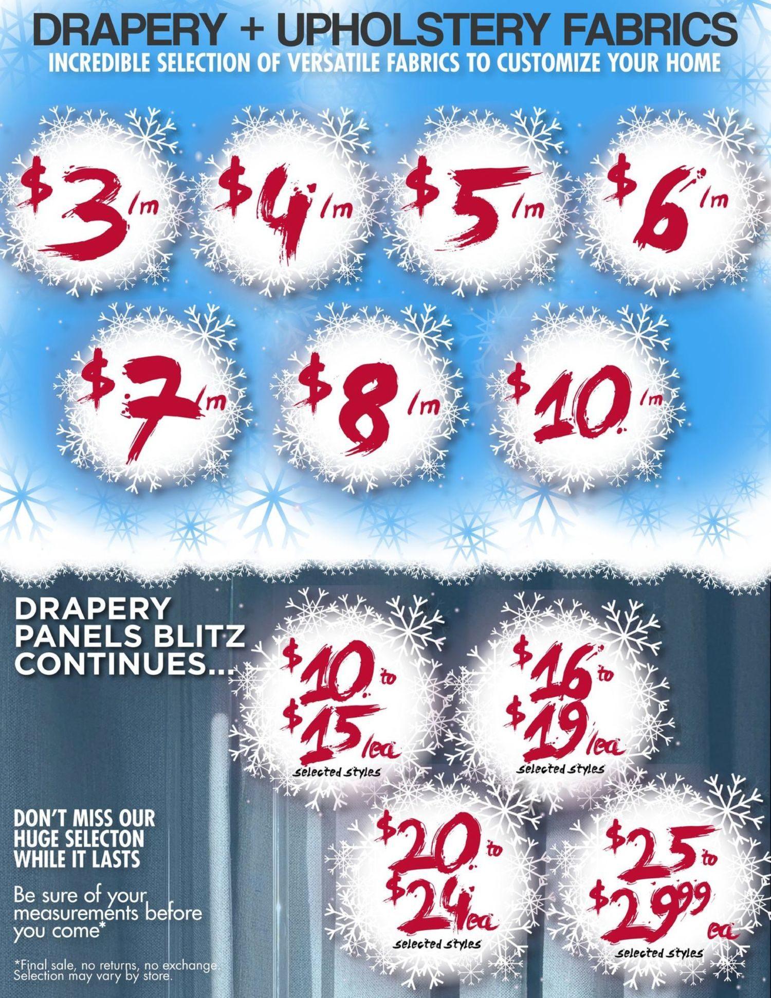 Fabricland - January's Deep Freeze Sale - Page 8