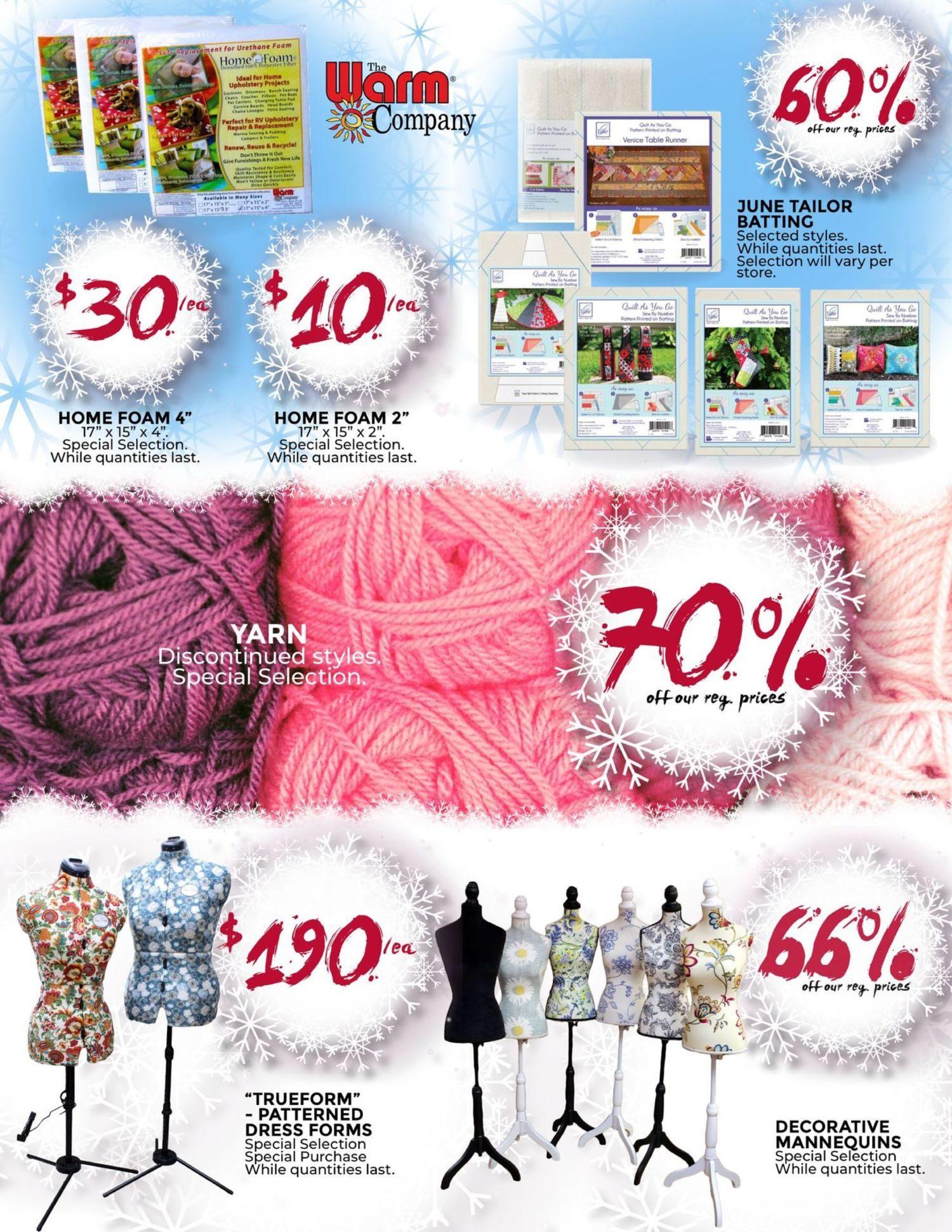 Fabricland - January's Deep Freeze Sale - Page 14