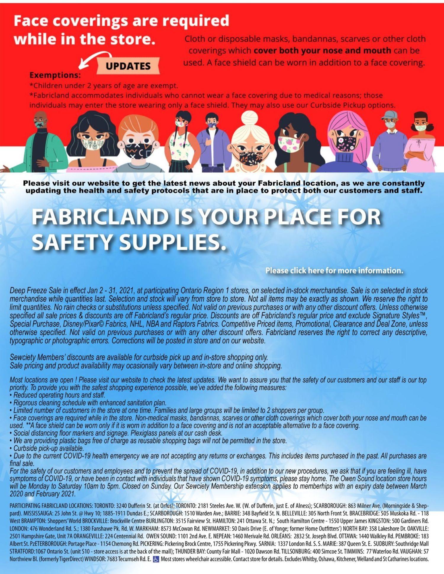 Fabricland - January's Deep Freeze Sale - Page 18