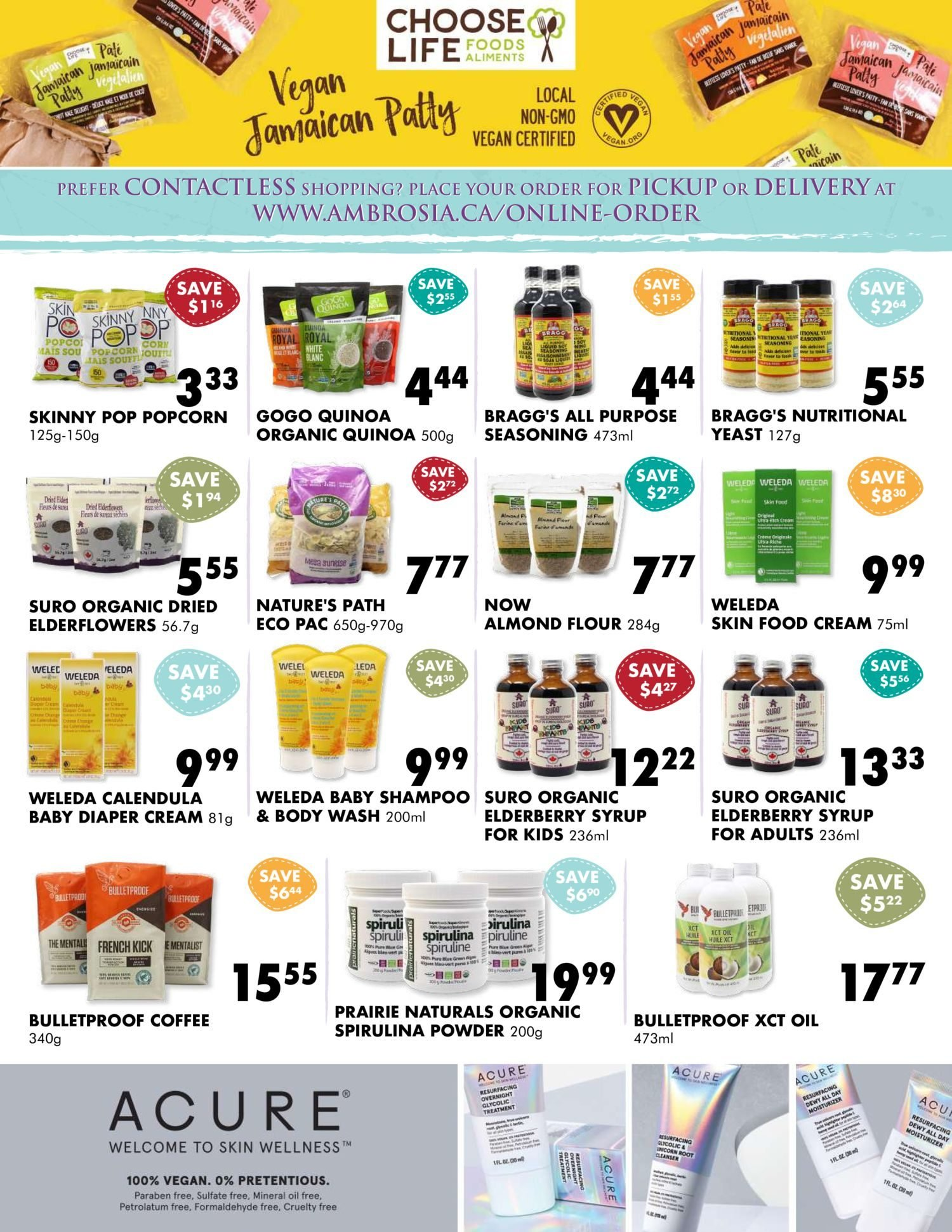 Ambrosia Natural Foods - January Specials - Page 3