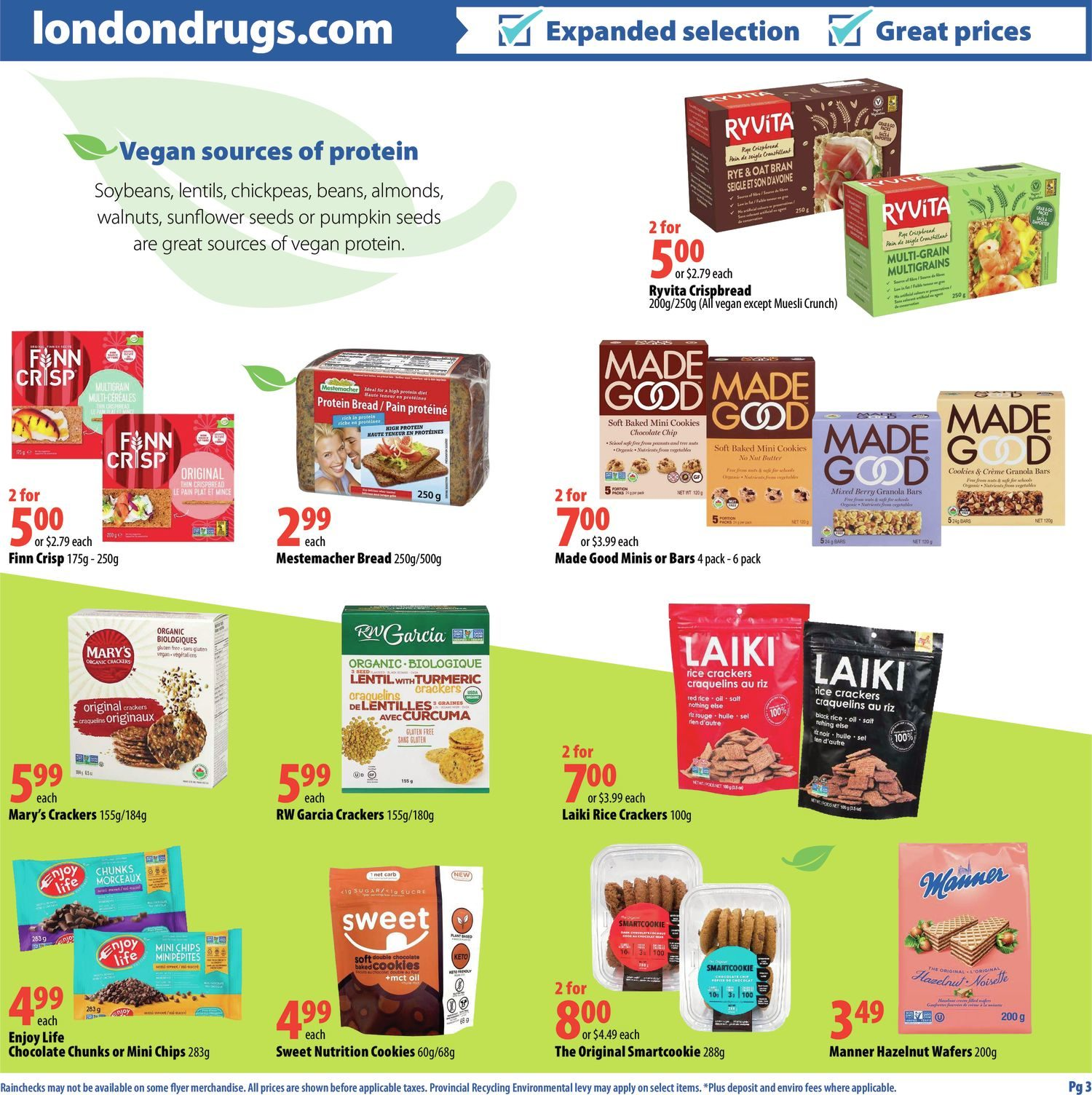 London Drugs - Veganuary - Page 5