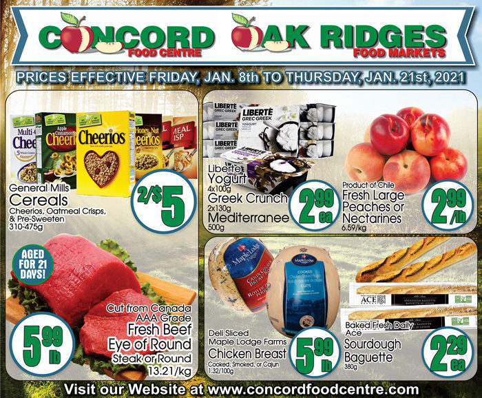 Concord Food Centre - 2 Weeks of Savings