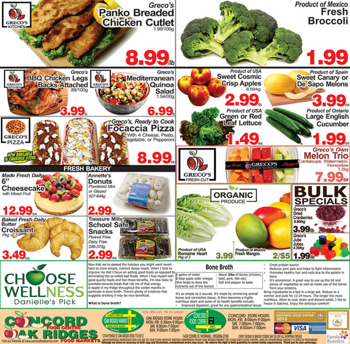 Concord Food Centre - 2 Weeks of Savings - Page 3