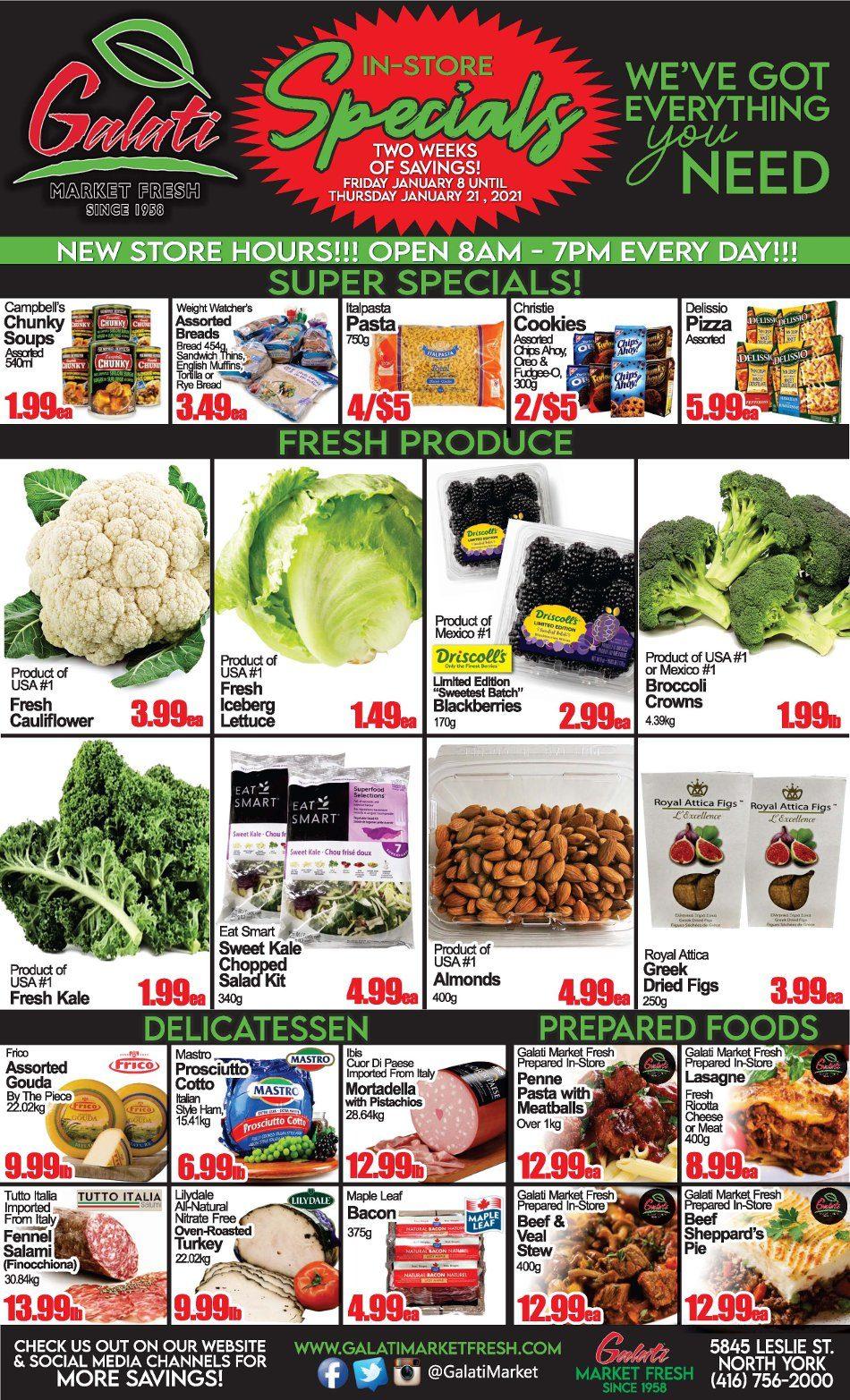 Galati Market Fresh - 2 Weeks of Savings