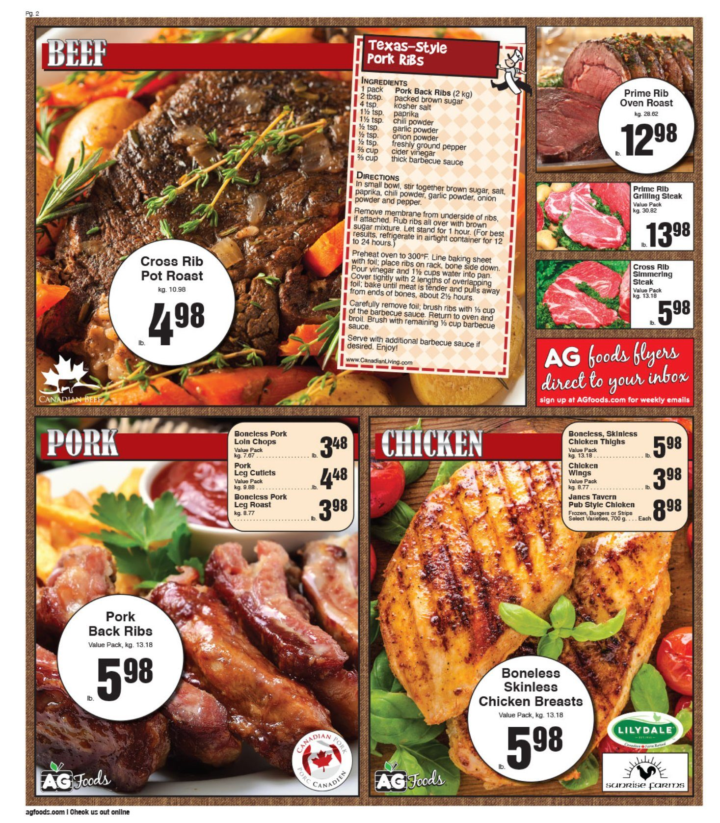 AG Foods - Weekly Flyer Specials - Page 2