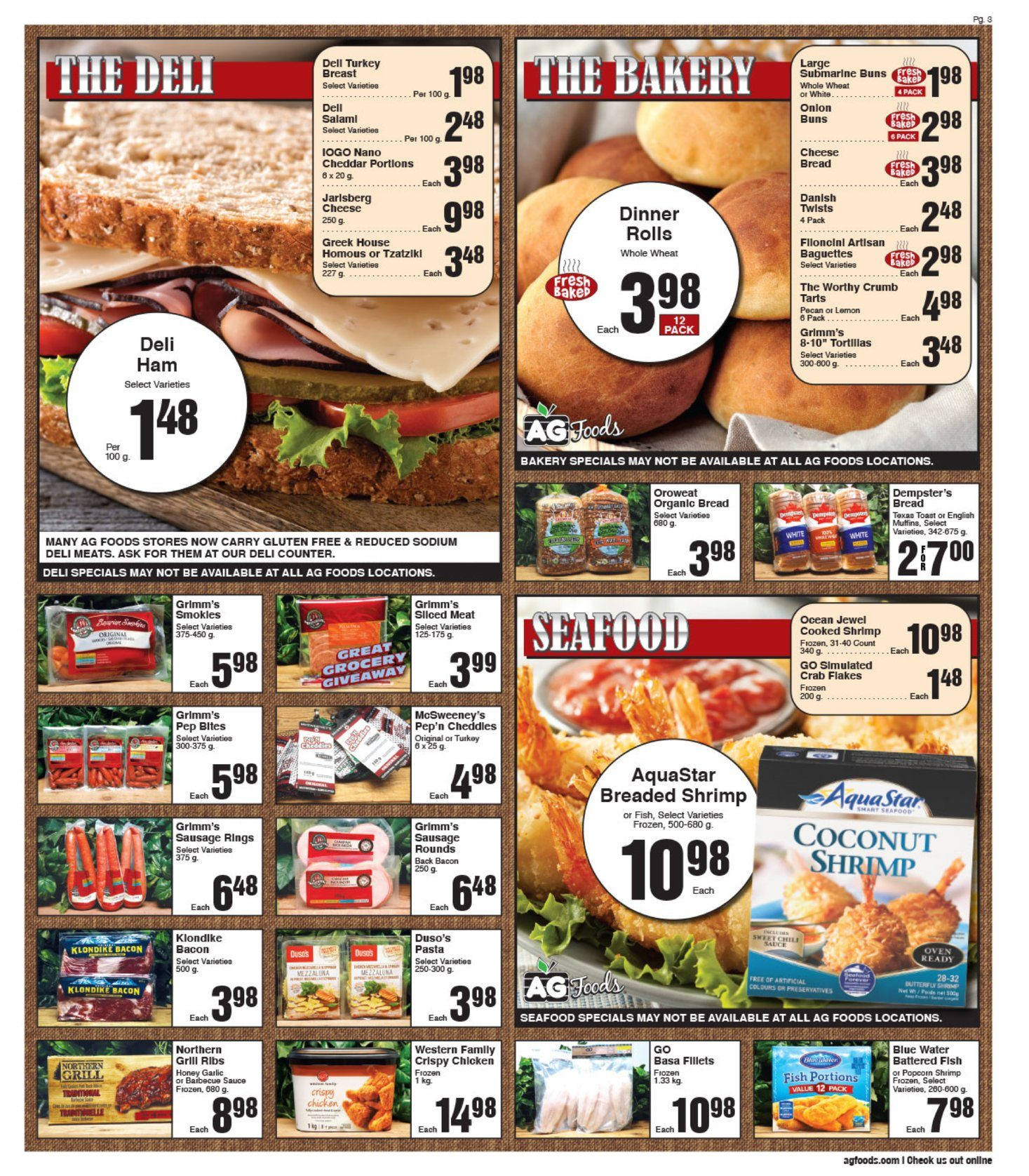 AG Foods - Weekly Flyer Specials - Page 3