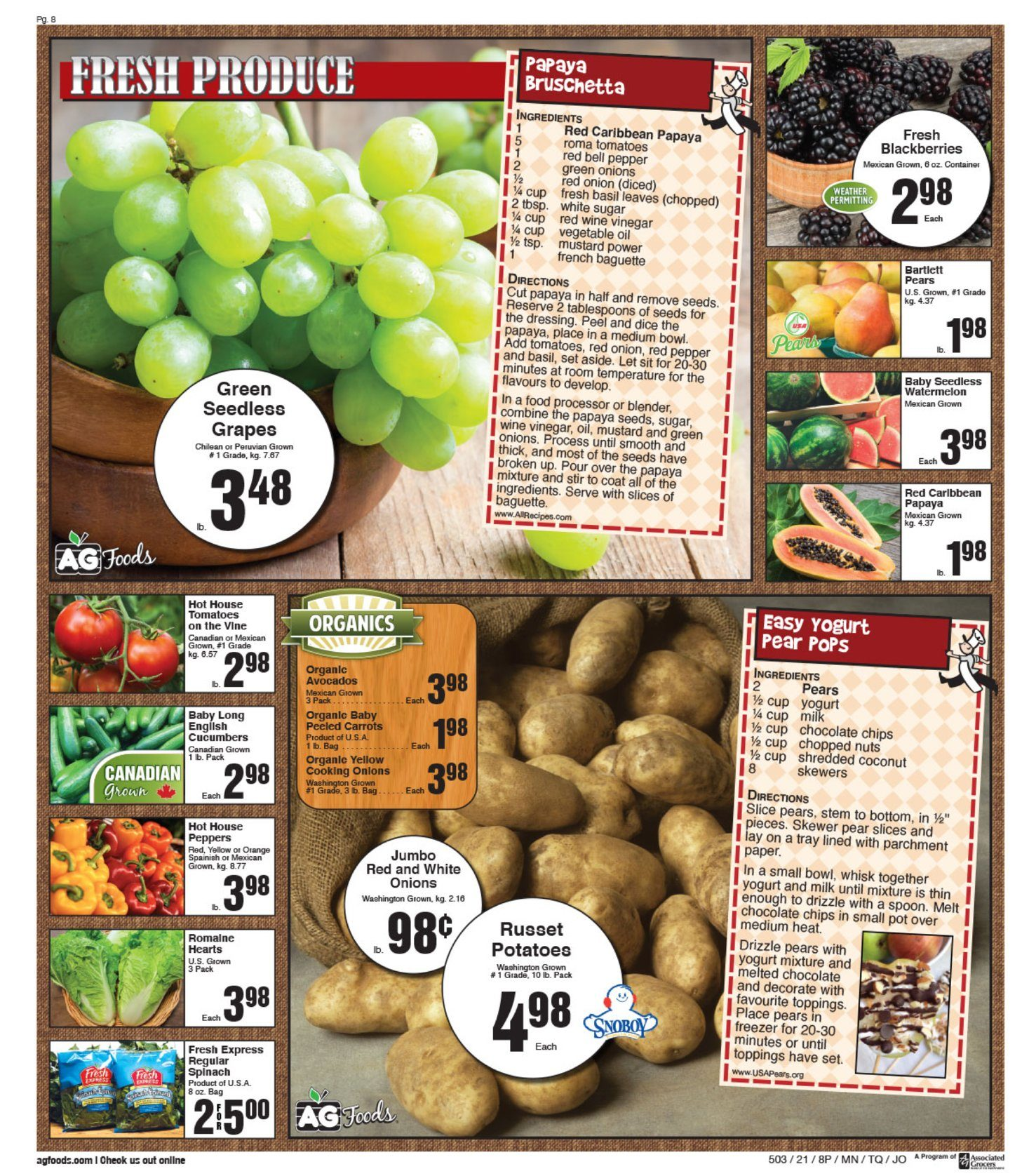 AG Foods - Weekly Flyer Specials - Page 8