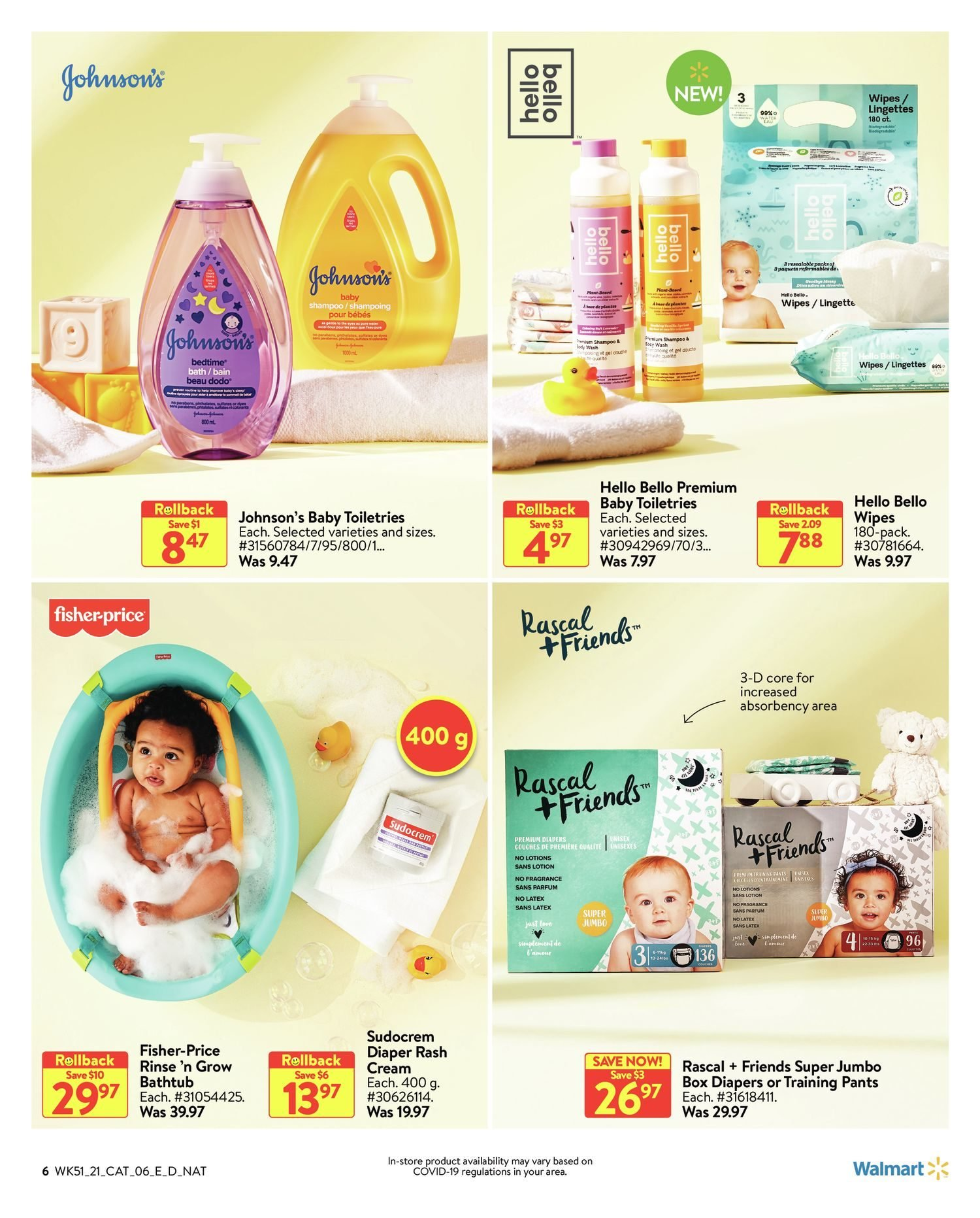Walmart - Baby Book - Page 6