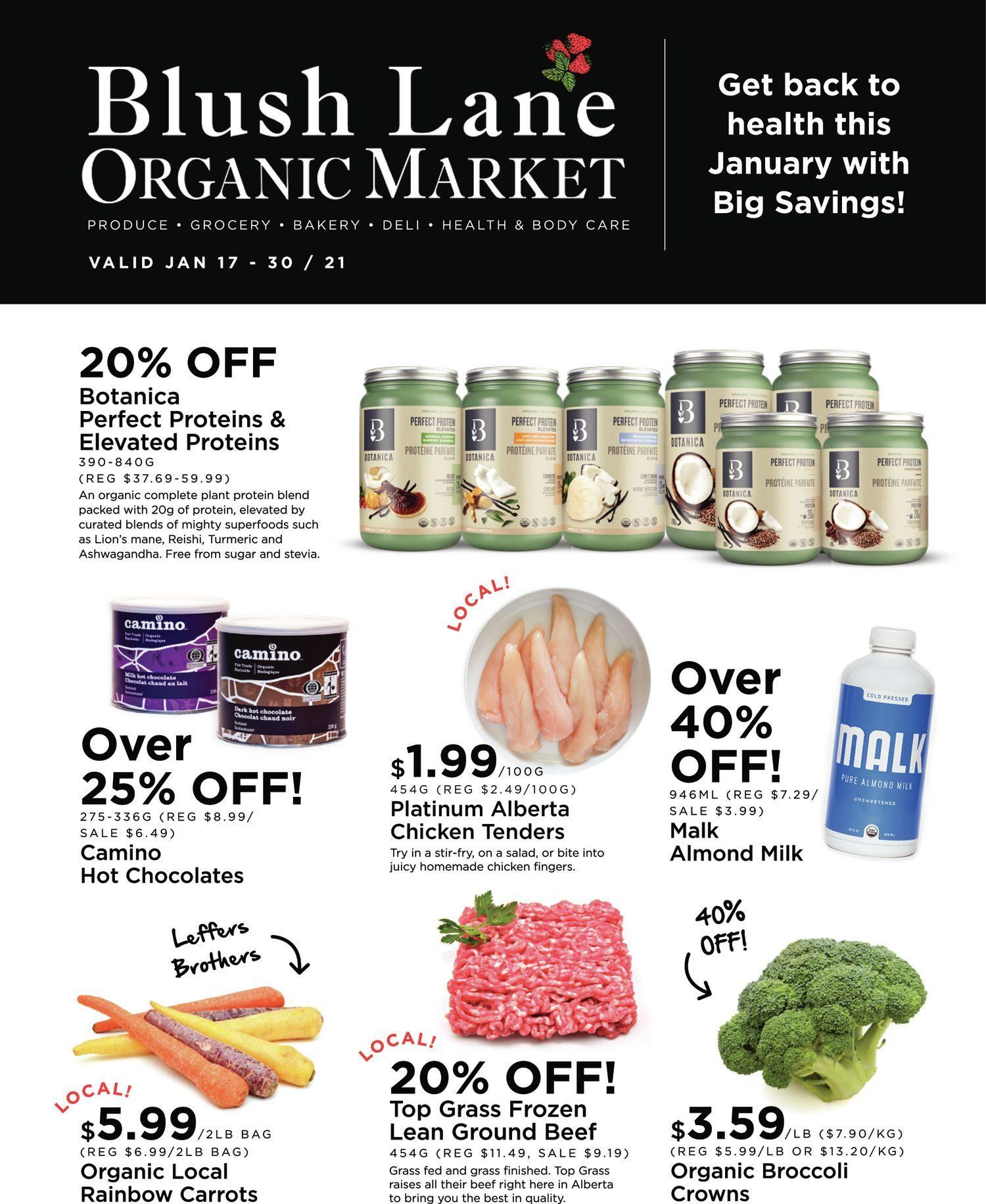 Blush Lane Organic Market - 2 Weeks of Savings