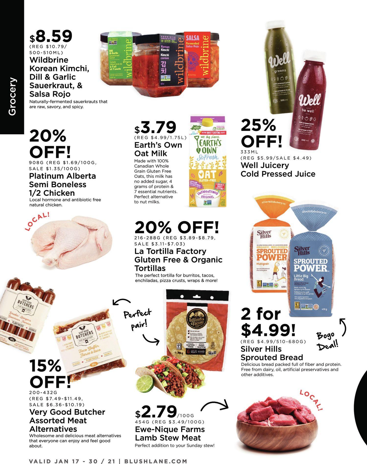 Blush Lane Organic Market - 2 Weeks of Savings - Page 2