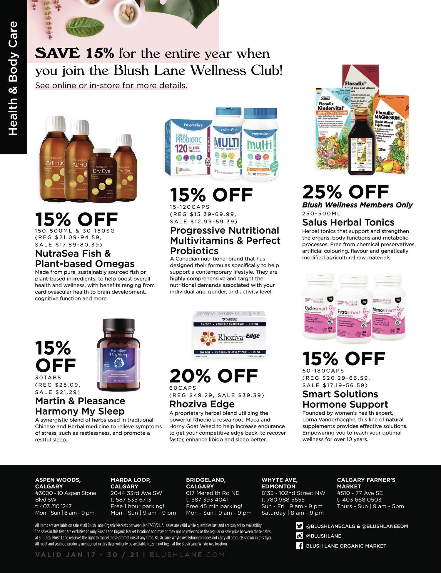 Blush Lane Organic Market - 2 Weeks of Savings - Page 4