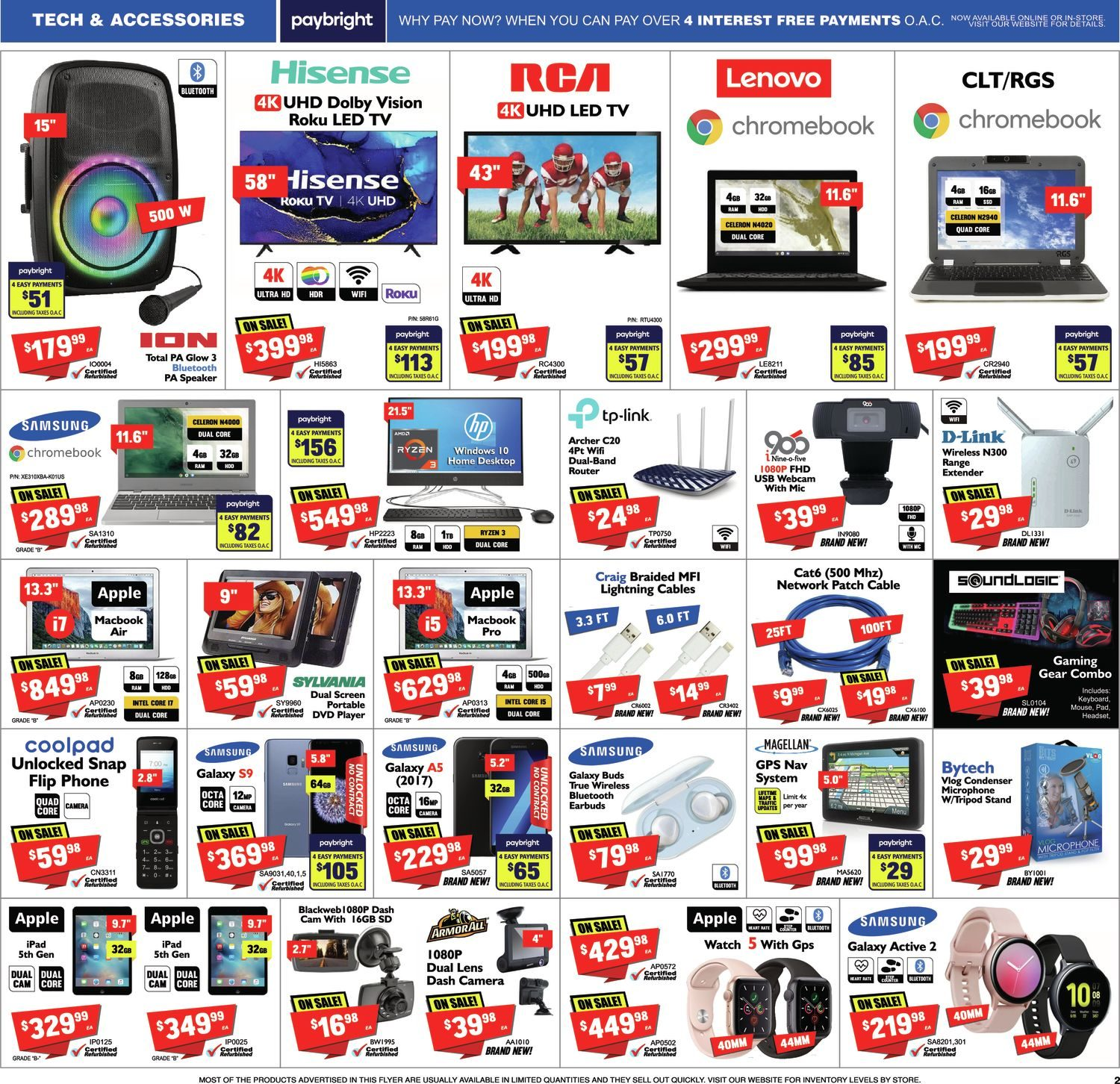 FactoryDirect - Massive Inventory Blowout! - Page 2