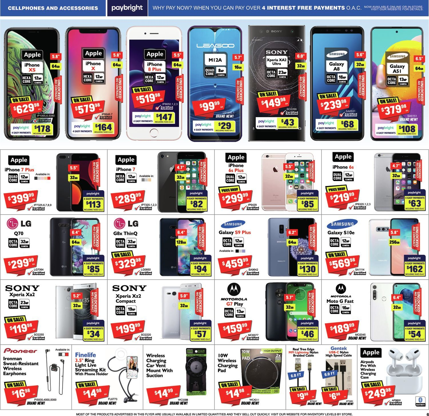 FactoryDirect - Massive Inventory Blowout! - Page 6