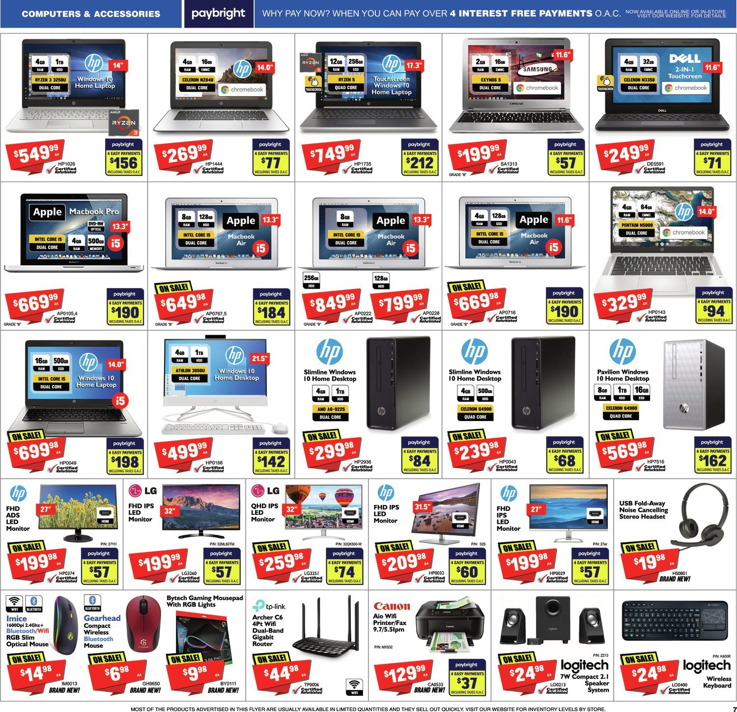 FactoryDirect - Massive Inventory Blowout! - Page 7